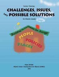 Atlantic Seniors Housing Research Alliance - 2010 (PDF) - Fredericton