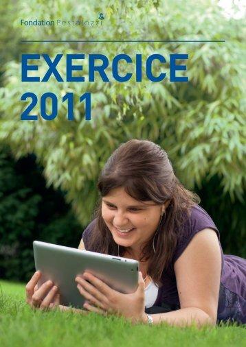 Rapport annuel 2011 - Pestalozzi-Stiftung