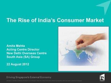 The Rise of India's Consumer Market - International Enterprise ...