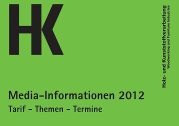 Mediadaten HK 2012