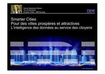 Smarter cities MIPIM - Mars 2013 - CARA IBM