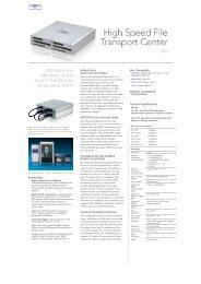 Multiple Slots, Quick Input and Output E4P SATA Host ... - que Video