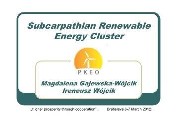 Subcarpathian Renewable Energy Cluster