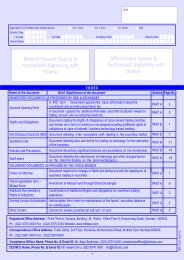 HDFC securities 4 in 1 online Investment Account Form