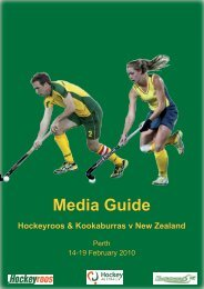 Hockeyroos v New Zealand - SportingPulse