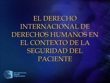 Pan American Health Organization - Comisión Nacional de Arbitraje ...