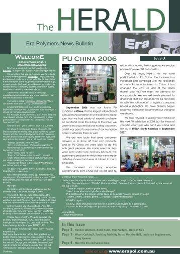 The HERALD - Era Polymers