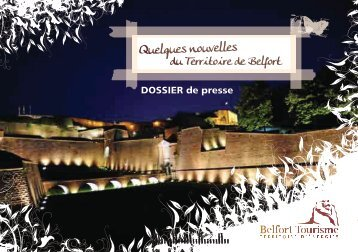 Quelques nouvelles - Belfort Tourisme