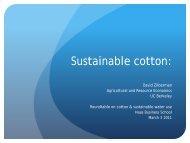 David Zilberman, Professor, Agricultural & Resource Economics, UC ...