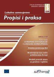 Lokalna samouprava – Propisi i praksa 2/08 - Stalna konferencija ...