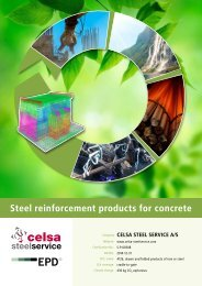 Steel reinforcement products for concrete - The International EPD ...