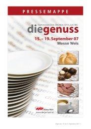 diegenuss, 15. bis 19. September 2007 / 1 - Messe Wels