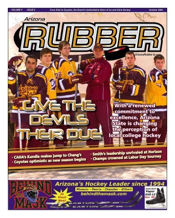 renewed commitment to excellence, Arizona State - Rubber Hockey ...