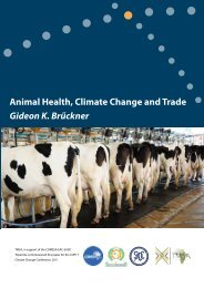 Animal Health, Climate Change and Trade - TradeMark Southern ...