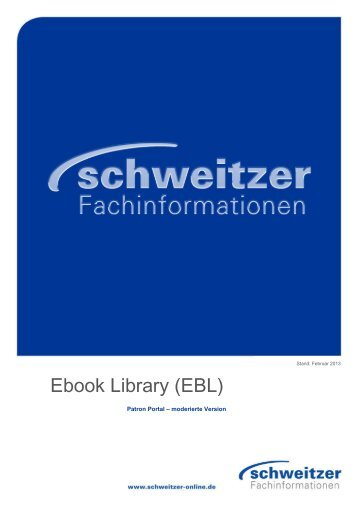 Ebook Library (EBL)