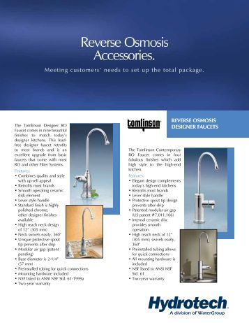 Lauer Aquaboss Reverse Osmosis System Manual