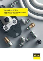 Viega Pexfit Pro. Systém flexibilního plastového potrubí se zárukou ...