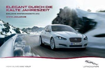 Jaguar - Winterangebote - Autohaus Road Star