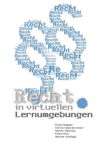 Recht in virtuellen Lernumgebungen - E-Learning - BG/BRG Gleisdorf