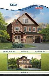 "Elevation ""B"" - Pratt New Homes Innisfil"