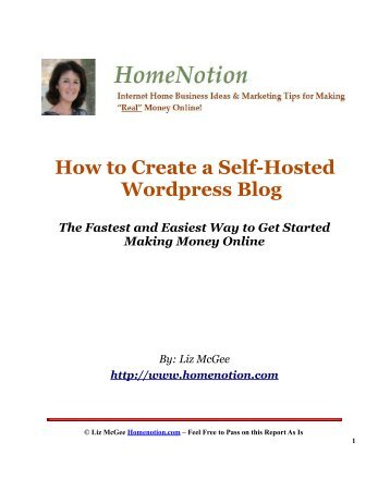 Here's how to create a self-hosted Wordpress blog - Homenotion