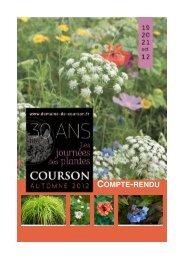 COMPTE-RENDU - Domaine de Courson
