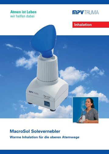 MacroSol Solevernebler - MPV MEDICAL GmbH