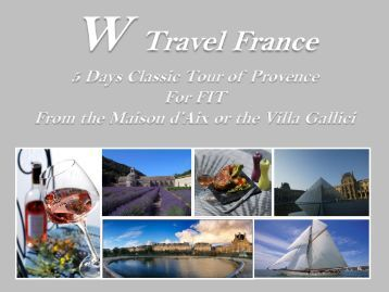 FIT - 5 Days Classic Tour - w travel france
