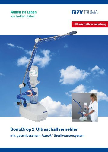SonoDrop 2 Ultraschallvernebler - MPV MEDICAL GmbH
