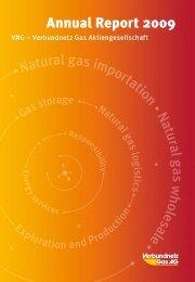 Annual Report 2009 - Verbundnetz Gas AG