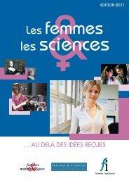 couverture ici - Association Femmes & Sciences