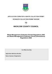 Collection Permit - Wicklow.ie