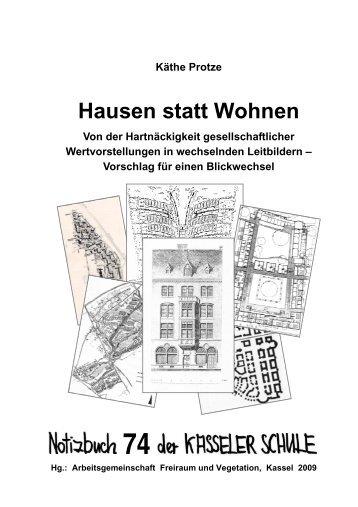 Hausen statt Wohnen – Von der Hart - KOBRA - Universität Kassel