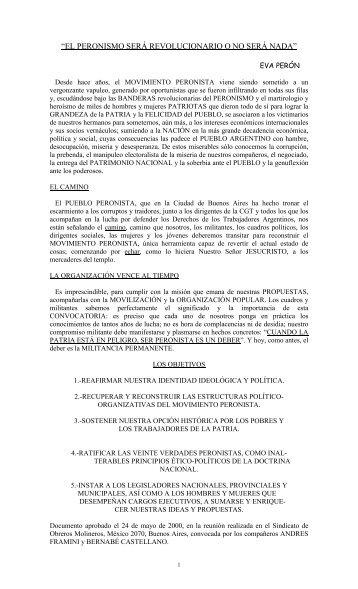 6_2000-El peronismo sera revolucionario o-signed.pdf - Movimiento ...
