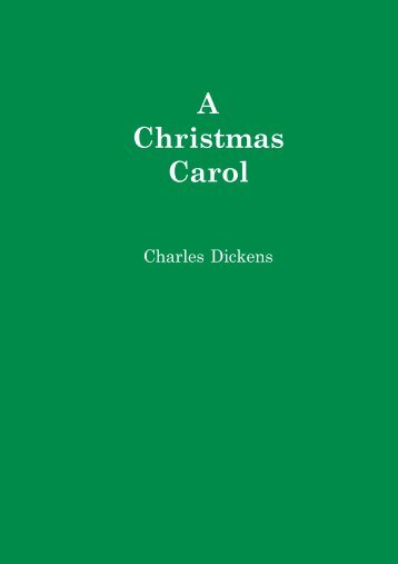 A Christmas Carol - Anthony's Home Page