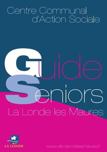 Téléchargez le guide 2010 du CCAS (PDF) - Mairie de La Londe les ...