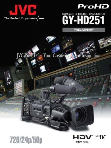 GY-HD251 - ValTech Video DOO