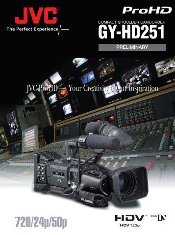 GY-HD251 - ValTech Video DOO