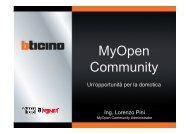 MyOpen Community: un caso di Open Innovation - Aica