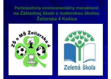 2009/2010 - Zelená škola
