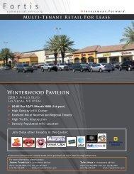 Winterwood Pavilion - Property Line