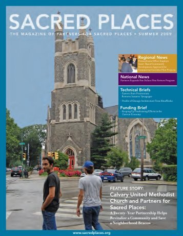 Calvary United Methodist Church and Partners for Sacred Places:
