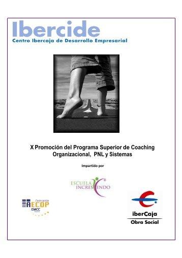 X Promoción del Programa Superior de Coaching Organizacional ...