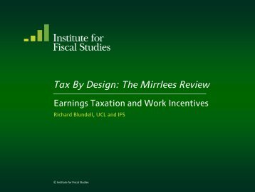 Download full version (PDF 389 KB) - Institute for Fiscal Studies