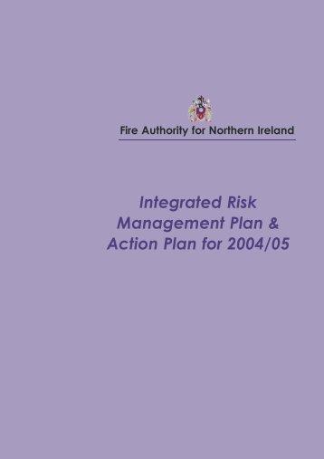 Integrated Risk Management Plan & Action Plan for 2004/05