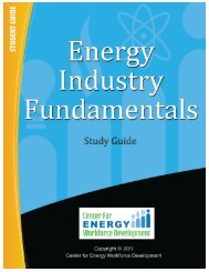 Energy Industry Fundamentals Study Guide - Students - CEWD