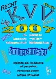 KVV SS 2007 - Jura