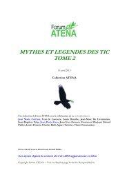 MYTHES ET LEGENDES DES TIC TOME 2 - Forum Atena