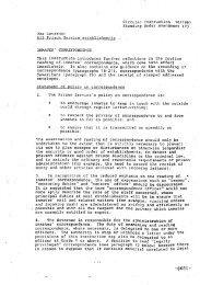 Circular Instruction 10/1991 Standing Order Amendment 473 ...