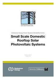 Small Scale Domestic Rooftop Solar Photovoltaic Systems